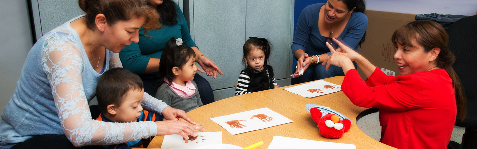 Preschool disabled classroom at NJEDDA - private special education Clifton NJ