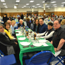 Attendees at dinner fundraiser for private special education school in Clifton NJ